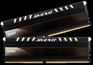 AVEXIR CORE SERIES 32GB DDR4 2400MHZ RAM(16GB X 2) WHITE