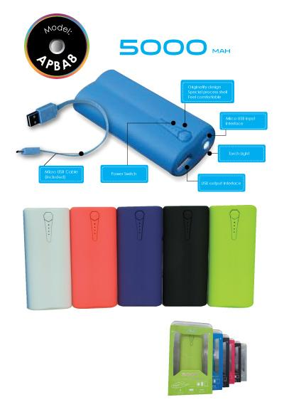 AVF APBA8 5000mAh Power Bank