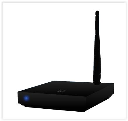 AVF AM-BOX ANDROID UHDTV Multimedia Player