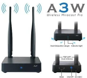 AVF Miracast Pro A3W (Connect smartphone to TV without cable)
