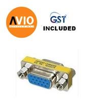 AVIO HD15FF VGA Female to Female Changer / Converter / Connector