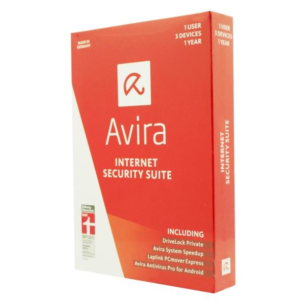 Avira Internet Security-Suite 2015 - (1User - 3Devices) - 1Year
