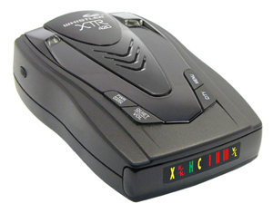 AVOID POLICE SPEED TRAP - WHISTLER XTR-420 CORDLESS RADAR DETECTOR