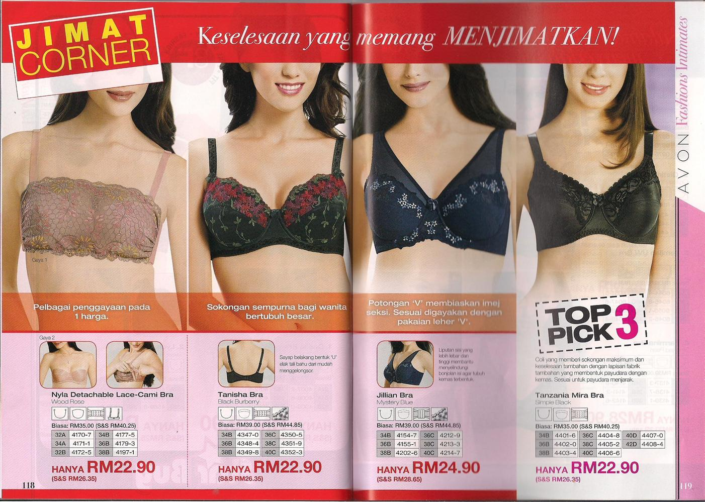 Avon Fashions Intimates