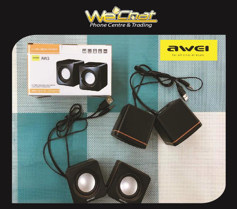 AWEI Mini Portable USB Audio Music Player Speaker for (AW3)