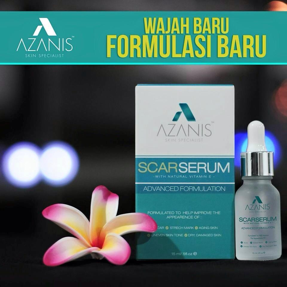 Azanis Scar Serum ADVANCED BARU ! Original & MURAH : with FREE GIFT