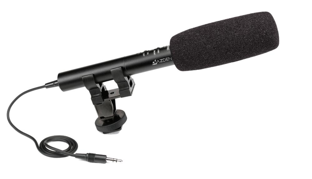 AZDEN ECZ-990 Super cardioids shotgun mic 2 position