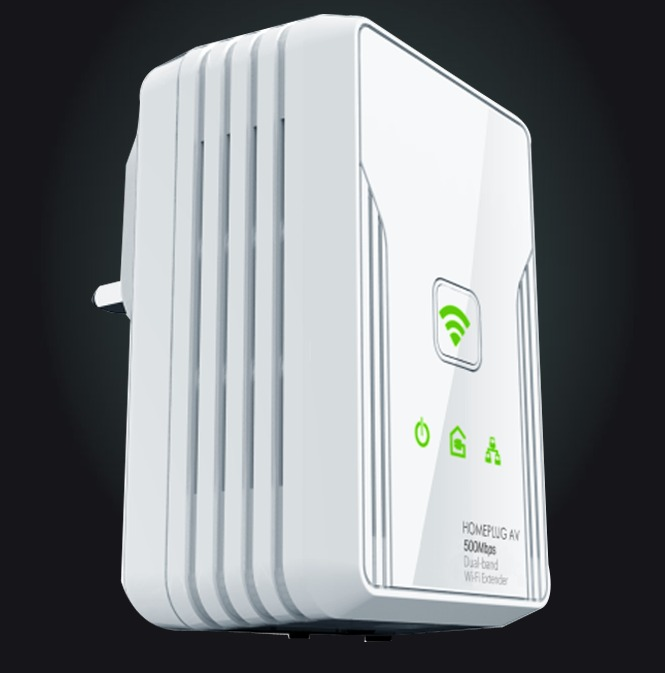 Aztech HomePlug Wireless N300MBPS AV500 (HL117EW) SINGLE