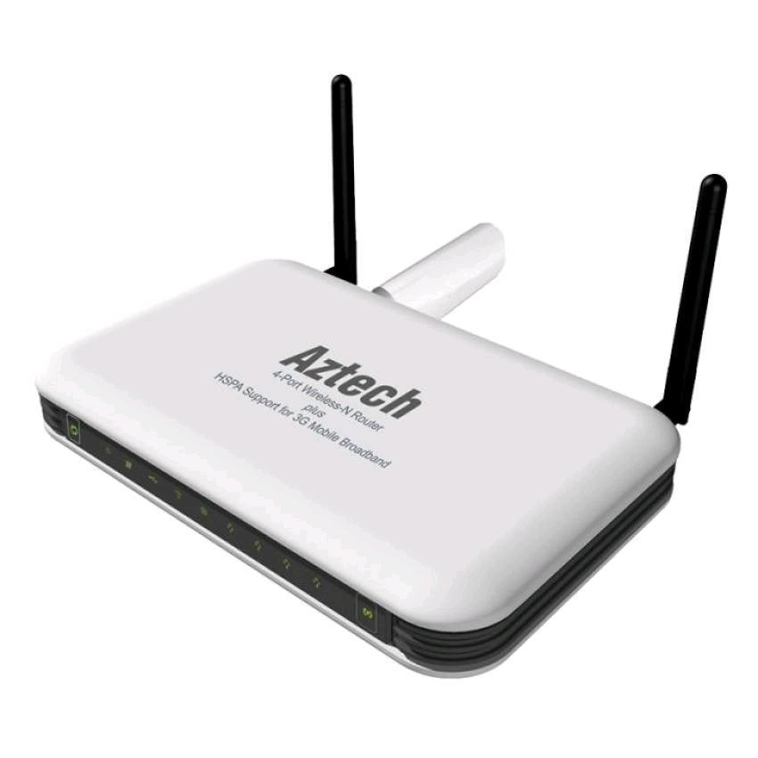 Aztech HW550-3G Wireless Broadband Router ( White )
