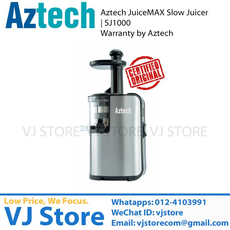 Philips Slow Juicer Sj 100 : Aztech JuiceMAX Slow Juicer SJ1000 ( (end 8/26/2016 6:15 AM)