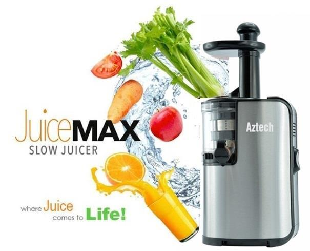 Aztech SJ1000 JuiceMax Slow Juicer (FREE SHIPPING)