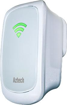 AZTECH WIFI N 300MBPS WIRELESS EXTENDER / REPEATER, WL559E