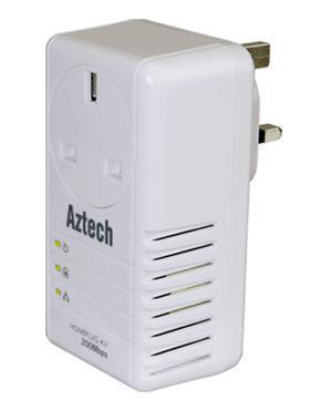 AZTECH WIRELESS SINGLE WIFI N 300MBPS (HL110EW) HOMEPLUG