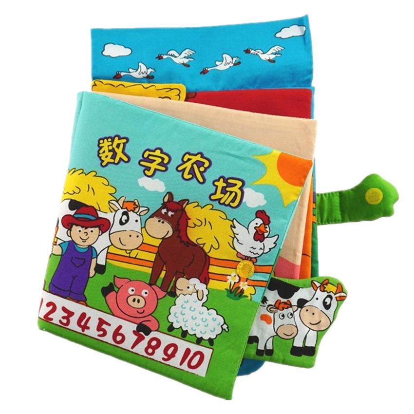 [Little B House]Cloth Book - Number and Farm -BT04
