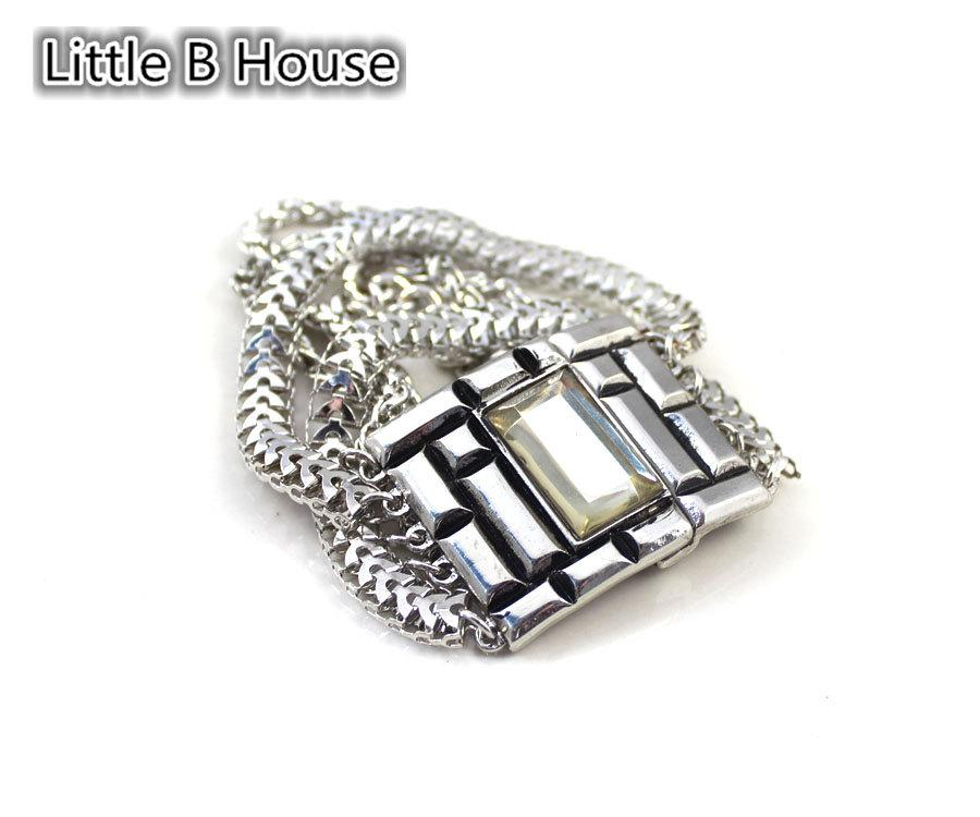 [Little B House] Multilayer Magnet Buckle Bracelet - BC88