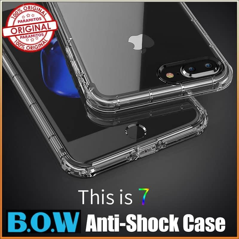 B.O.W Military Grade Protection Anti-Shock TPU Case Casing For iPhone7