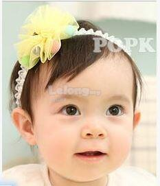Baby adorable flower headband