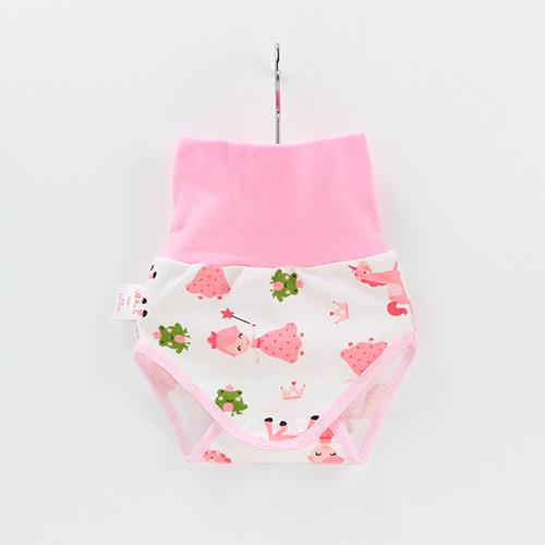 Baby Belly Protection Short Pink Princess Cute Pants