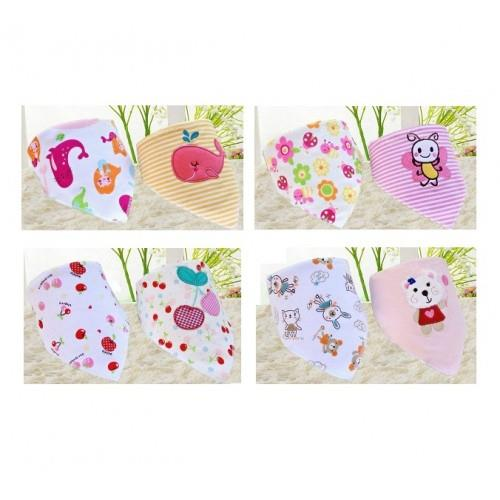 Baby Bibs - For Precious Girl (4 Sets 8 pcs)