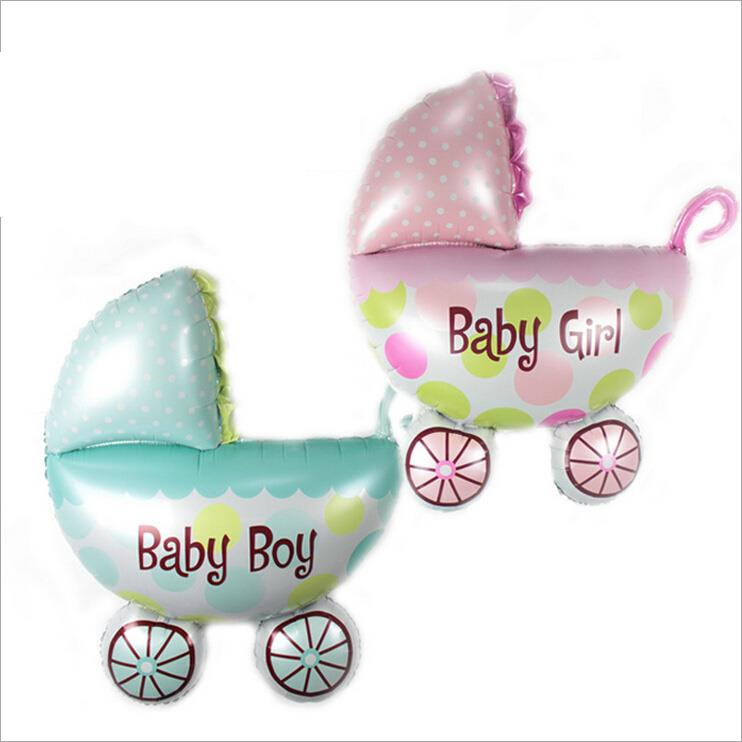 BABY CARRIAGE ALUMINUM FILM BALLOON