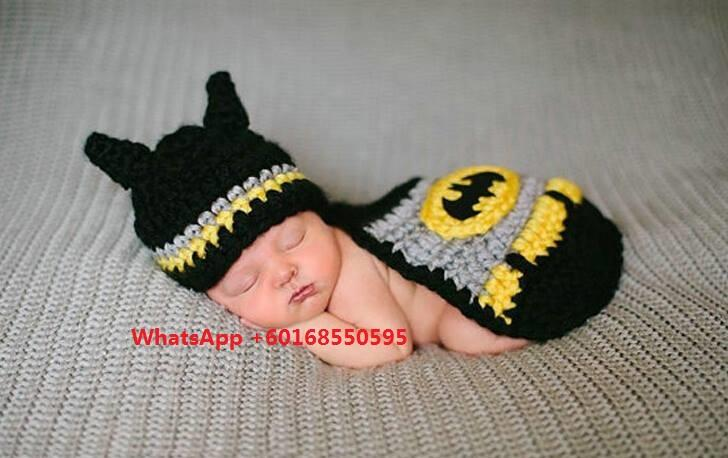 Baby Custome Photography Bat man Photoshooting