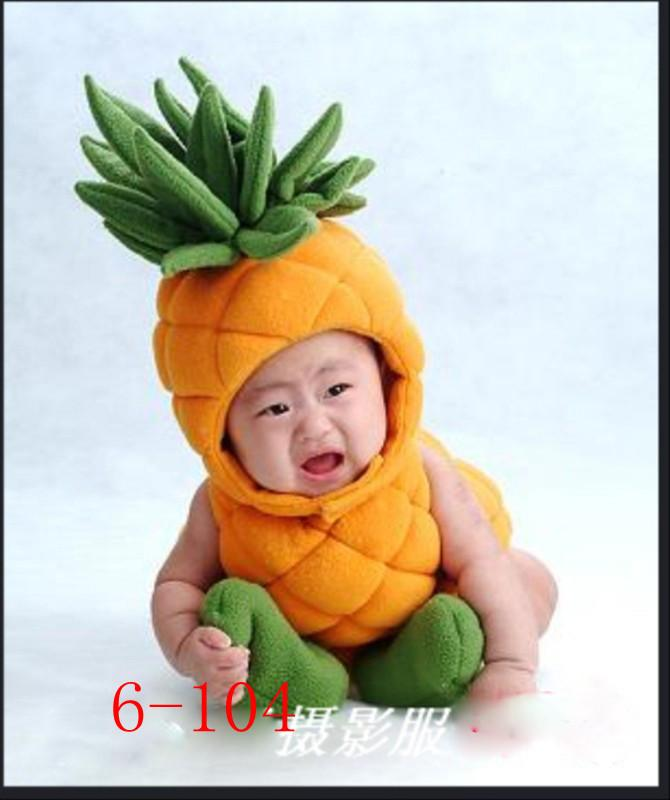 Baby Custome Photography Pineapple Baby Photoshooting