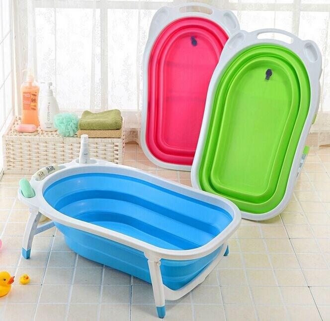 baby bath tub foldable foldable folding baby bathtub bath tub infant bathing ebay folding baby. Black Bedroom Furniture Sets. Home Design Ideas