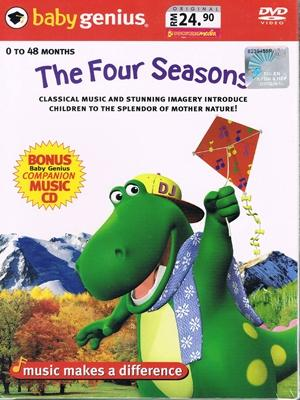 Baby Genius - The Four Seasons (with Bonus CD) (DVD)