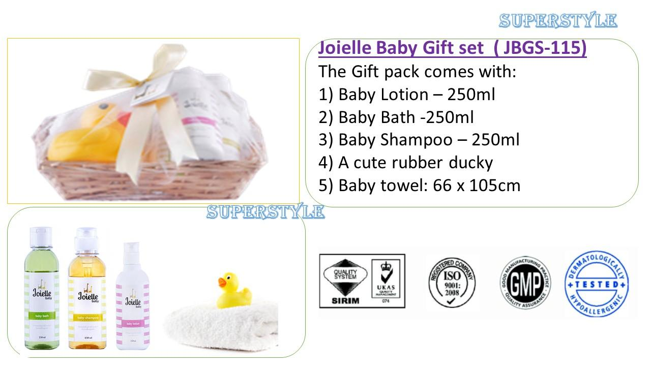 Newborn Baby Gift Set Malaysia : Baby gift set joielle jbgs end pm myt