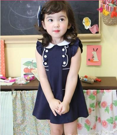 Blue And White Baby Dress Dress On Sale