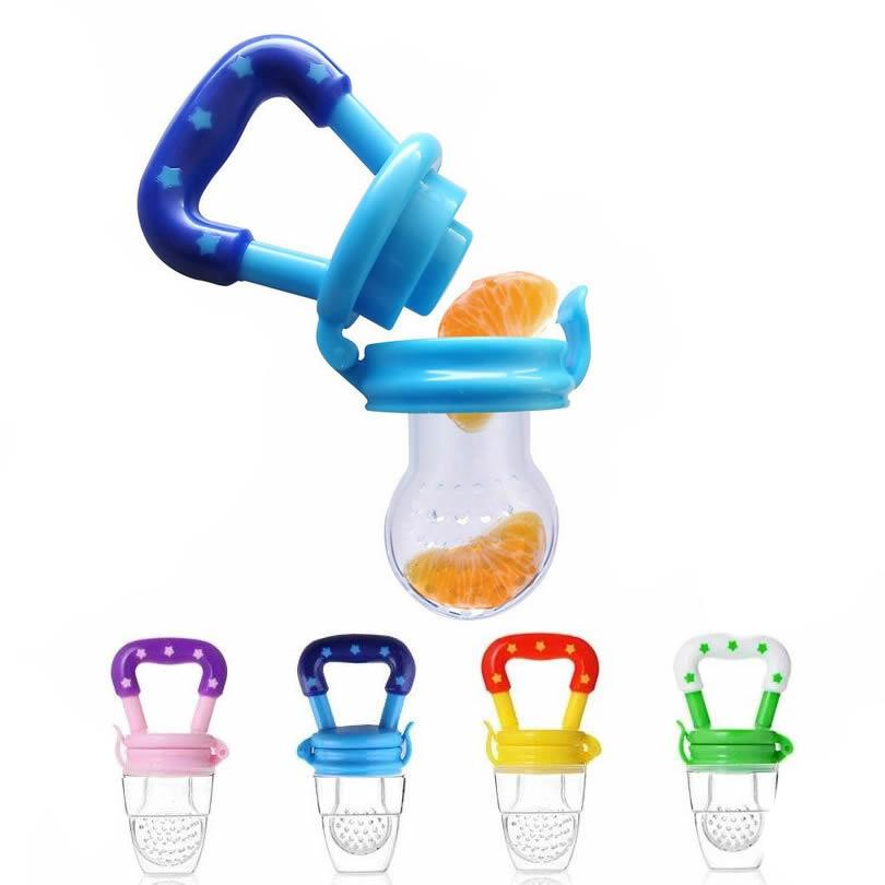 Baby Infant Food Nutrition Nipple Pacifier Feeder- Large