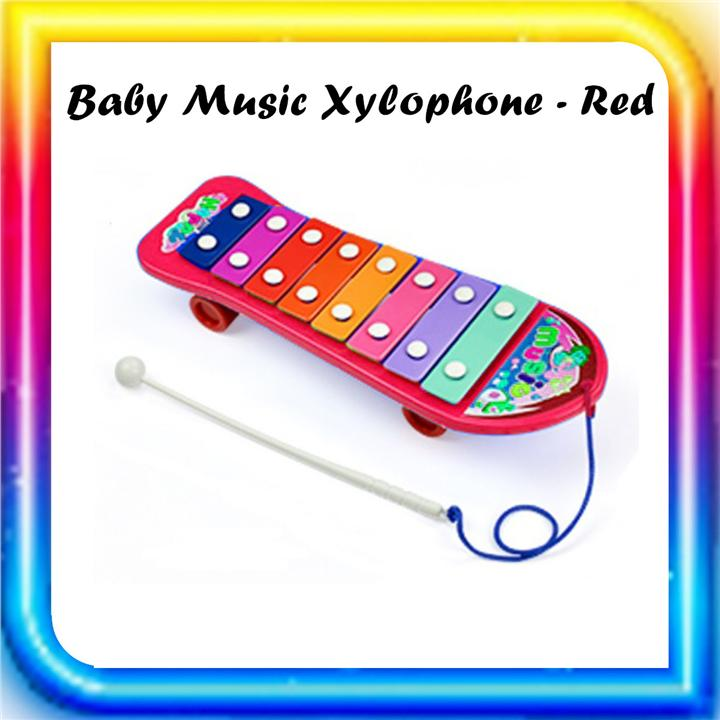 Baby Music Xylophone - Red