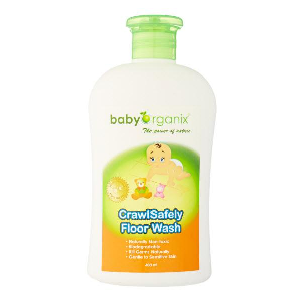 Baby Organix CrawlSafety Floor Wash 400ml