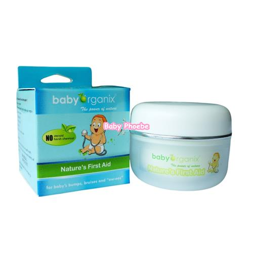 Baby Organix:Nature's First Aid Cream(30g)