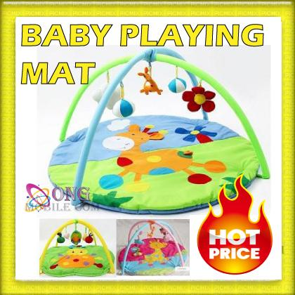 Baby safari fun twist and fold activity gym and play mat itemid