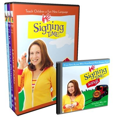 Its for Baby : Signing Time Vol. 7-9 DVD Gift Set