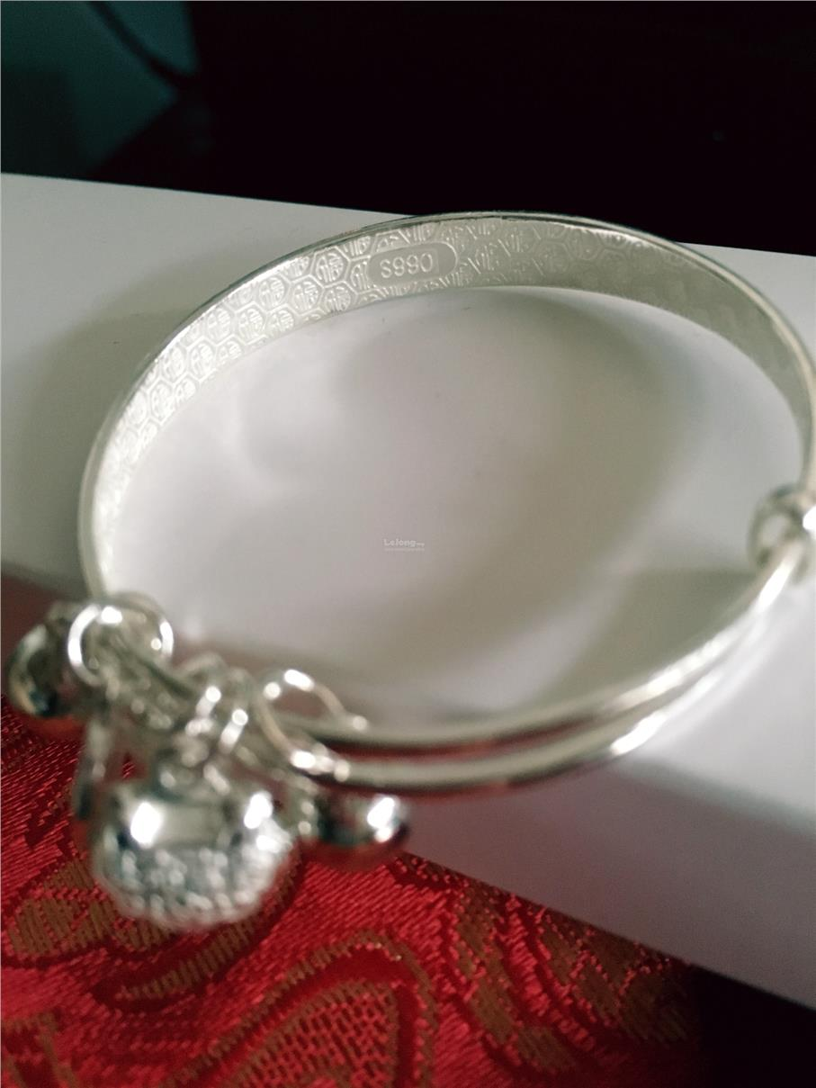 Baby Silver Bracelet - 99.0% Pure Silver