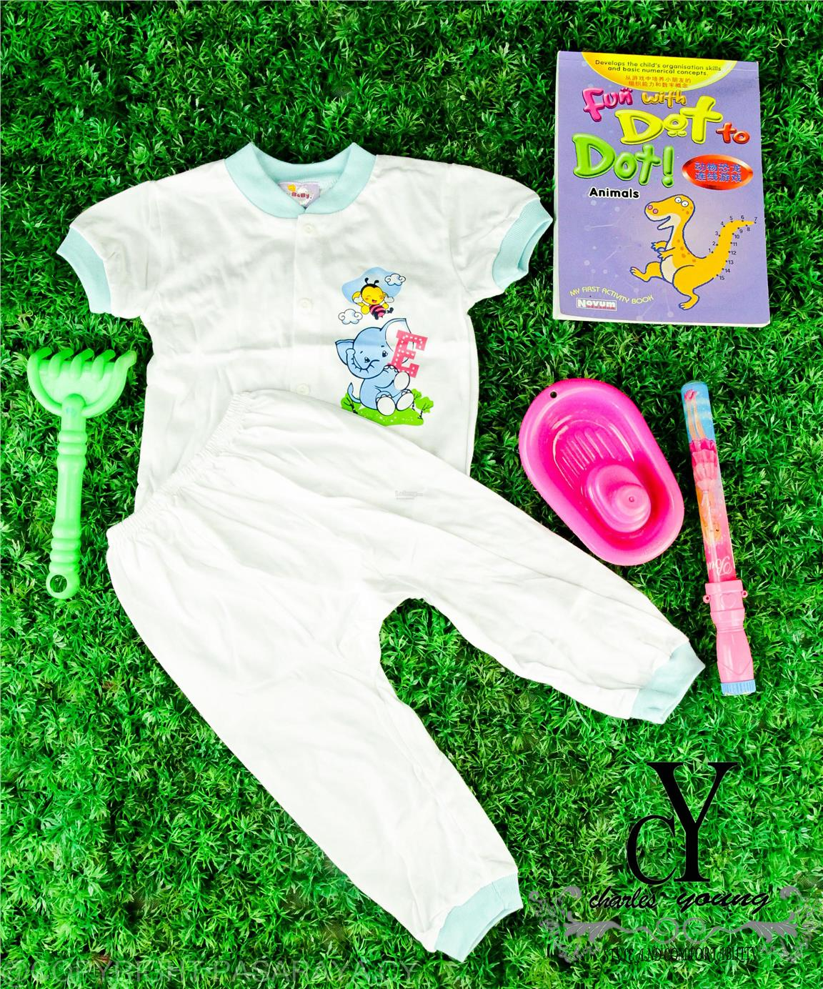 Baby suit set shirt pant cotton lo end 10 31 2017 10 15 pm for Long sleep shirts cotton