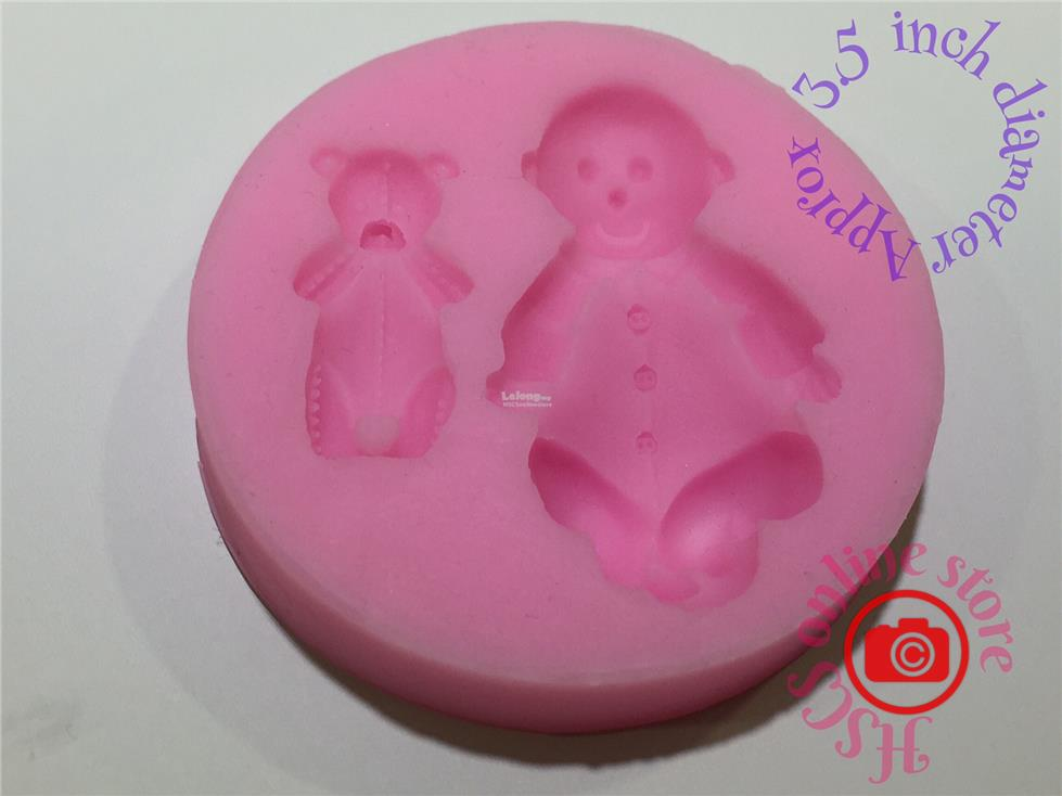Baby with Teddy Mold