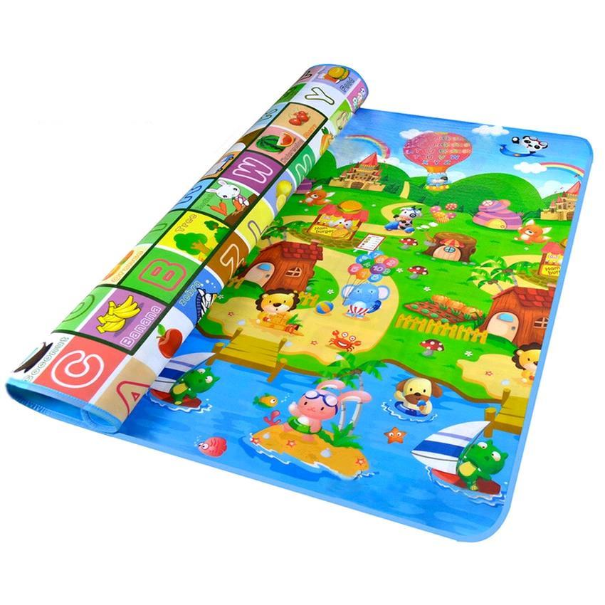 Baby Toddler Learn and Play Crawling Mat (Farm)
