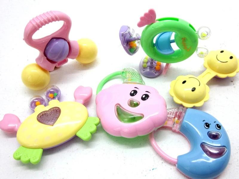 Baby Toy Rattles Toy 6 in 1 Set
