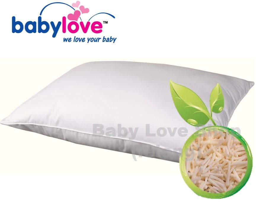 Babylove 100% Natural Latex-Filled Pillow XXL with Case