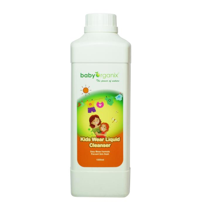 BabyOrganix Kids Wear Liquid Cleanser (1.0L)