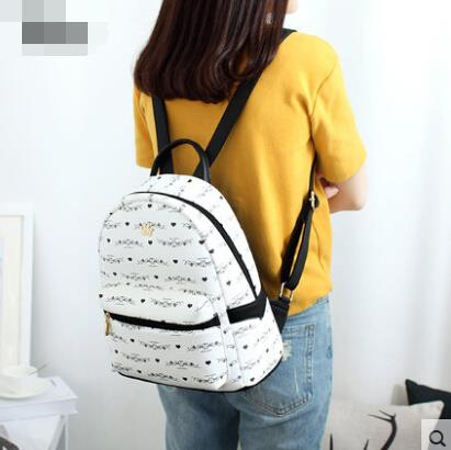 Backpack female shoulder bag