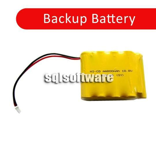 Backup Battery For Employee Time Recorder Punch Card Machine