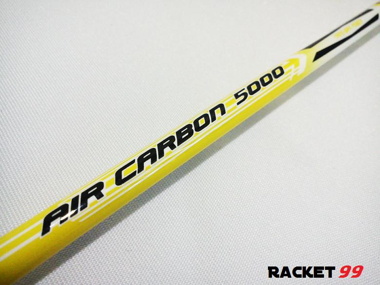 Badminton Racket- Hart Air Carbon 5000 + Free Double Compartment Bag