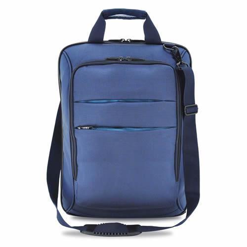 Bagman S06-019CON-02 Vertical Laptop Carrier Bag - Navy Blue