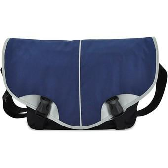 Bagman S06-369LAP-02 Laptop Messenger Bag - Navy