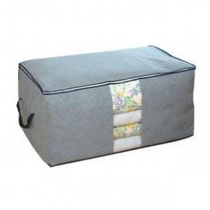 Bamboo Charcoal Blanket Storage Box (Addition Height Type)
