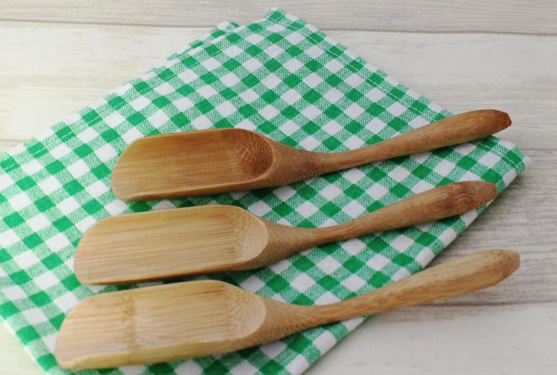 Bamboo Spoon For Tea Leaf or Coffee bean (Per 3 Pieces)